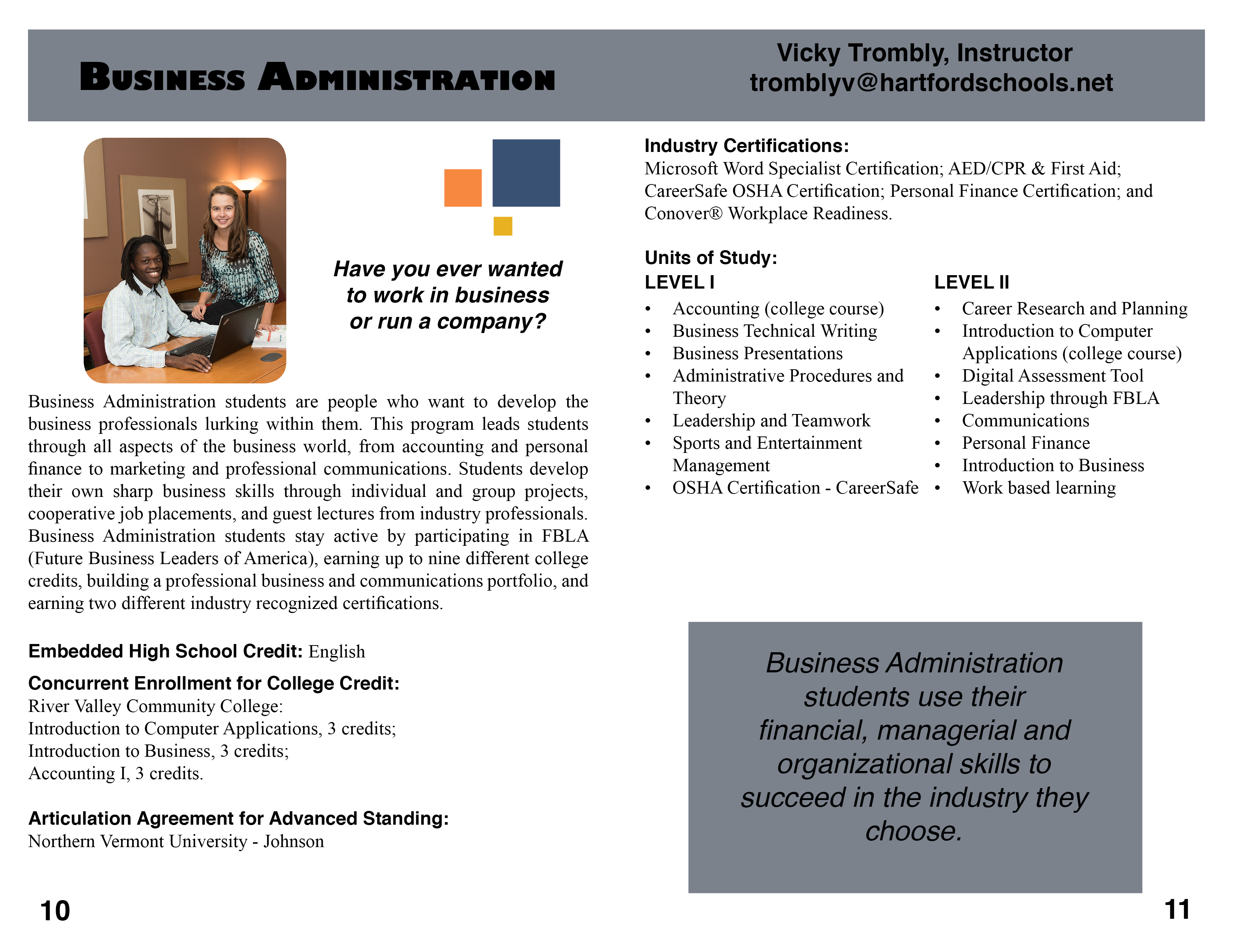 Business administration hartford area career technology center 1betcityfo Image collections